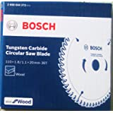 Bosch 2608644272 TCT Wood Circular Saw Blade, Eco Series (110 x 20, 30 Teeth)