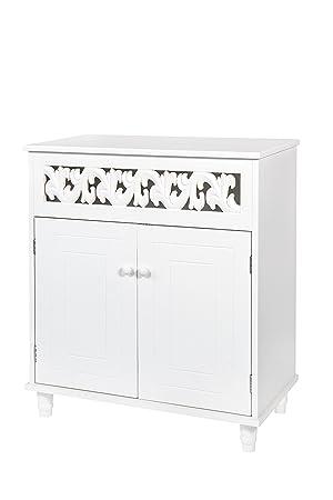 Ws Style Kommode Weiss Schrank Rosi Landhaus Stil 625 Amazon De