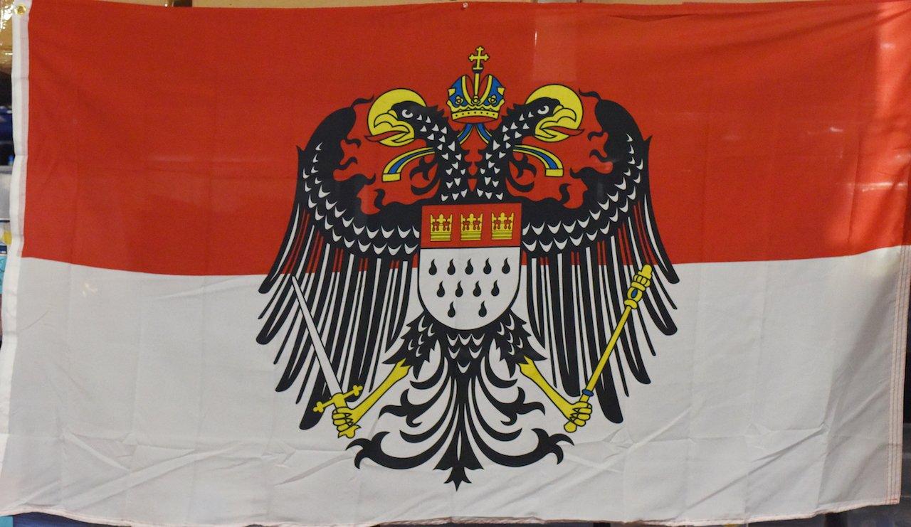 3 x5 de bandera de Colonia Alemania águila alemana Rough Tex de punto Banner: Amazon.es: Jardín