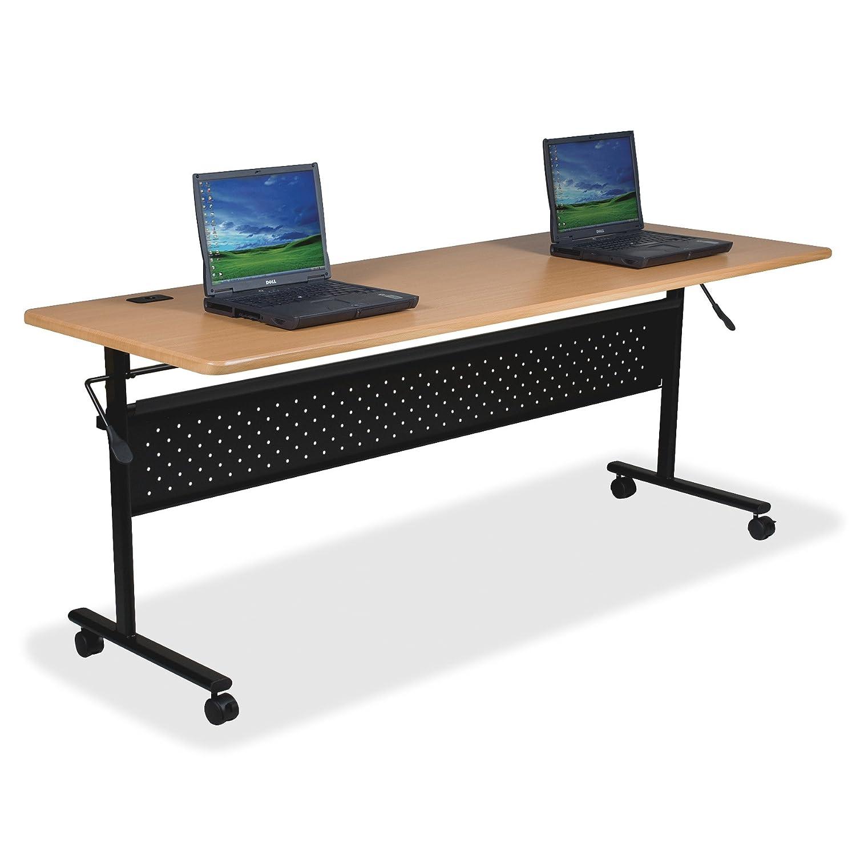Lorell LLR60657 Flipper Training Tables 5 Height X 29 Width X 53 Length