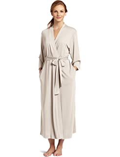 c374c75942 Women s Cotton Cashmere Robe (Beige) at Amazon Women s Clothing store
