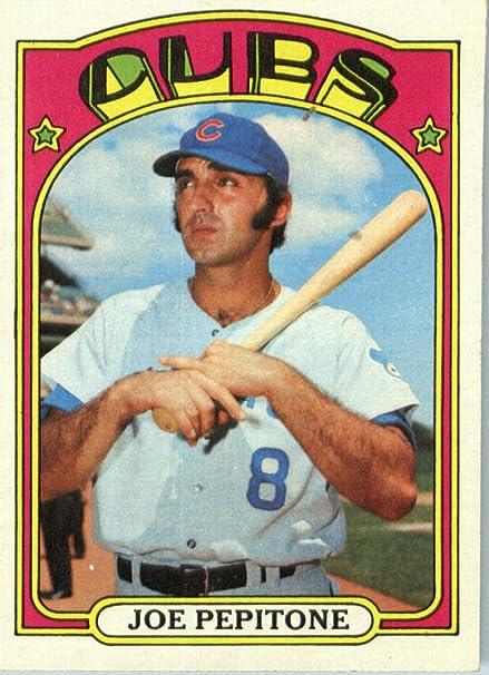 1972 Topps Baseball Card 303 Joe Pepitone Chicago Cubs