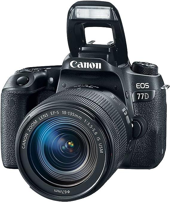 Canon EOS 77D + EF-S 18-135mm f/3.5-5.6 IS USM: Amazon.es: Electrónica