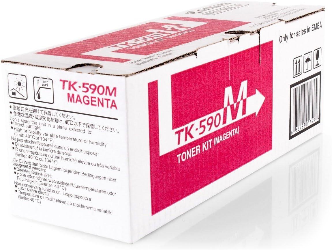 Original Kyocera 1t02kvbnl0 Tk 590m Für Ecosys M 6526 Cdn Premium Drucker Kartusche Magenta 5000 Seiten Bürobedarf Schreibwaren