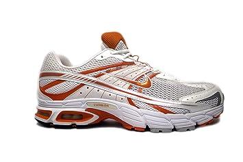 Nike Air Max Moto +5 Running Shoes (White Orange c6bfc61b6dd9