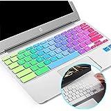 "Lapogy[2pcs] Premium Ultra Thin Keyboard Cover Skin for ASUS Chromebook Flip C434TA-DSM4T 2-in-1 Laptop 14"" Touchscreen,C434,"