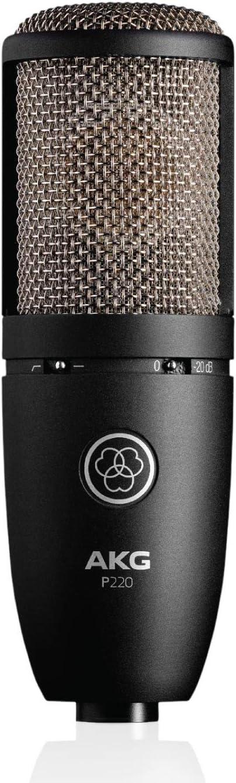 AKG Pro Audio P220 Vocal Condenser Microphone Black at Kapruka Online for specialGifts