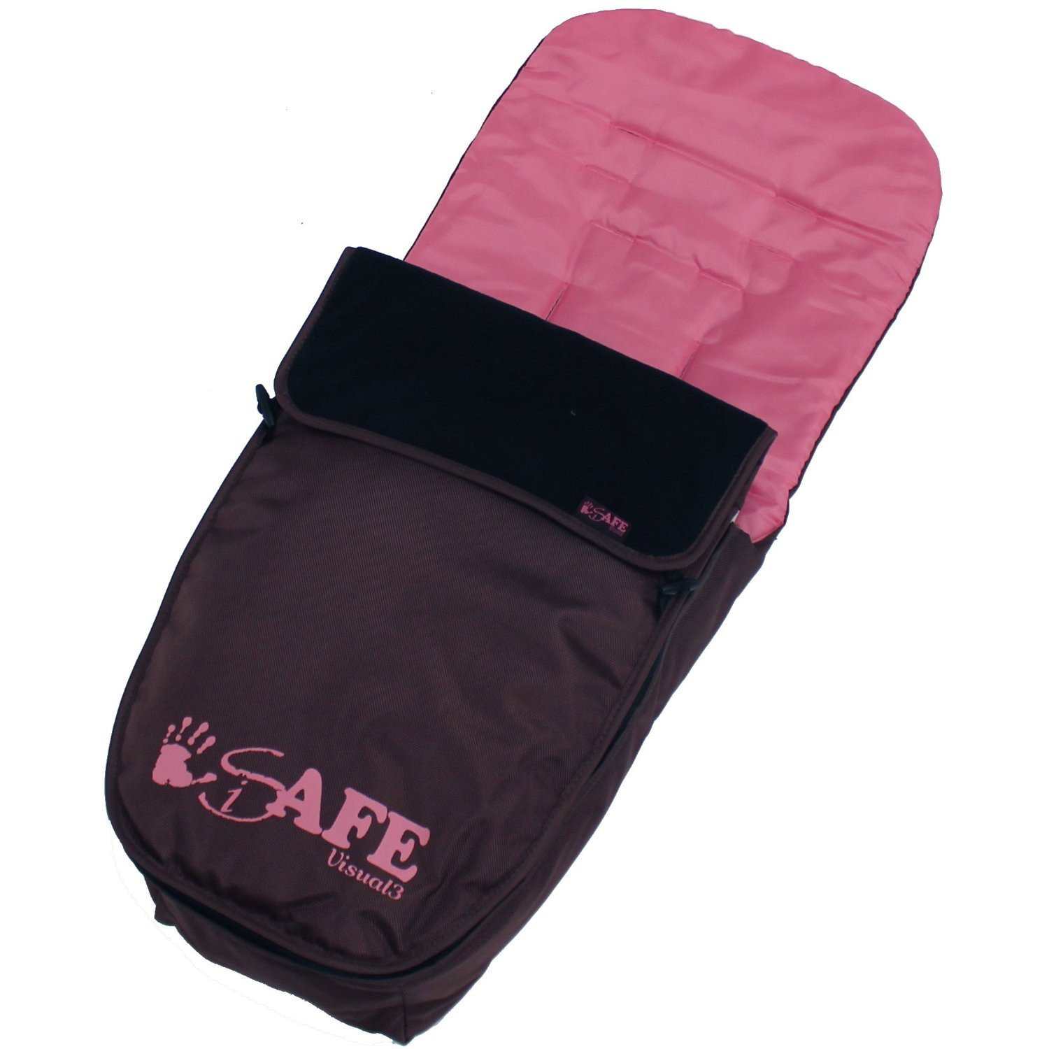 Bootcover 2017 iSafe Visual 3 -Raspberry Pink Complete with Bumper Bar Travel Bag Foot Muff Rain Cover
