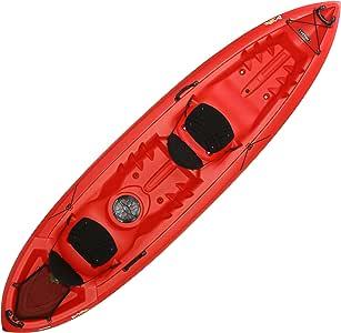 Lifetime Beacon Tandem Kayak, Red, 12'