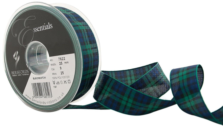 40mm Berisfords Royal Blue Grosgrain Ribbon 20m Reel