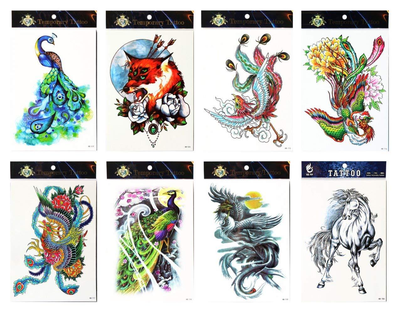 Spestyle - Pegatinas de tatuaje resistentes al agua y no tóxicas ...
