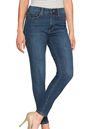 6fbd49e1173 Banana Republic Women's Skinny Fit High-Rise Skinny Jeans Medium Wash (28W  US: