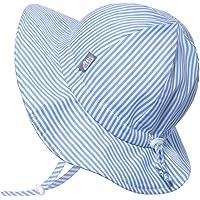 Jan & Jul Unisex Cotton Floppy Sun-Hat, 50+ UPF with Adjustable Strap for Baby, Toddler, Kids