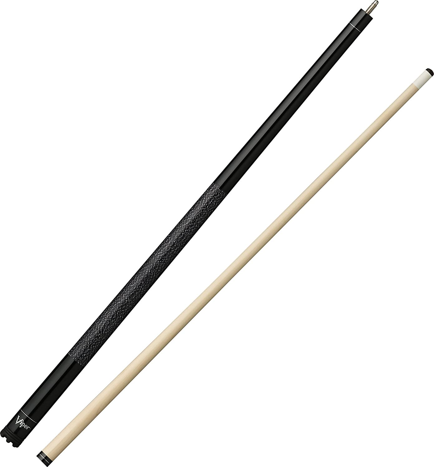 Viper Jump Shot/Break 58 3-Piece Billiard/Pool Cue, Black 05-0503-18-Parent
