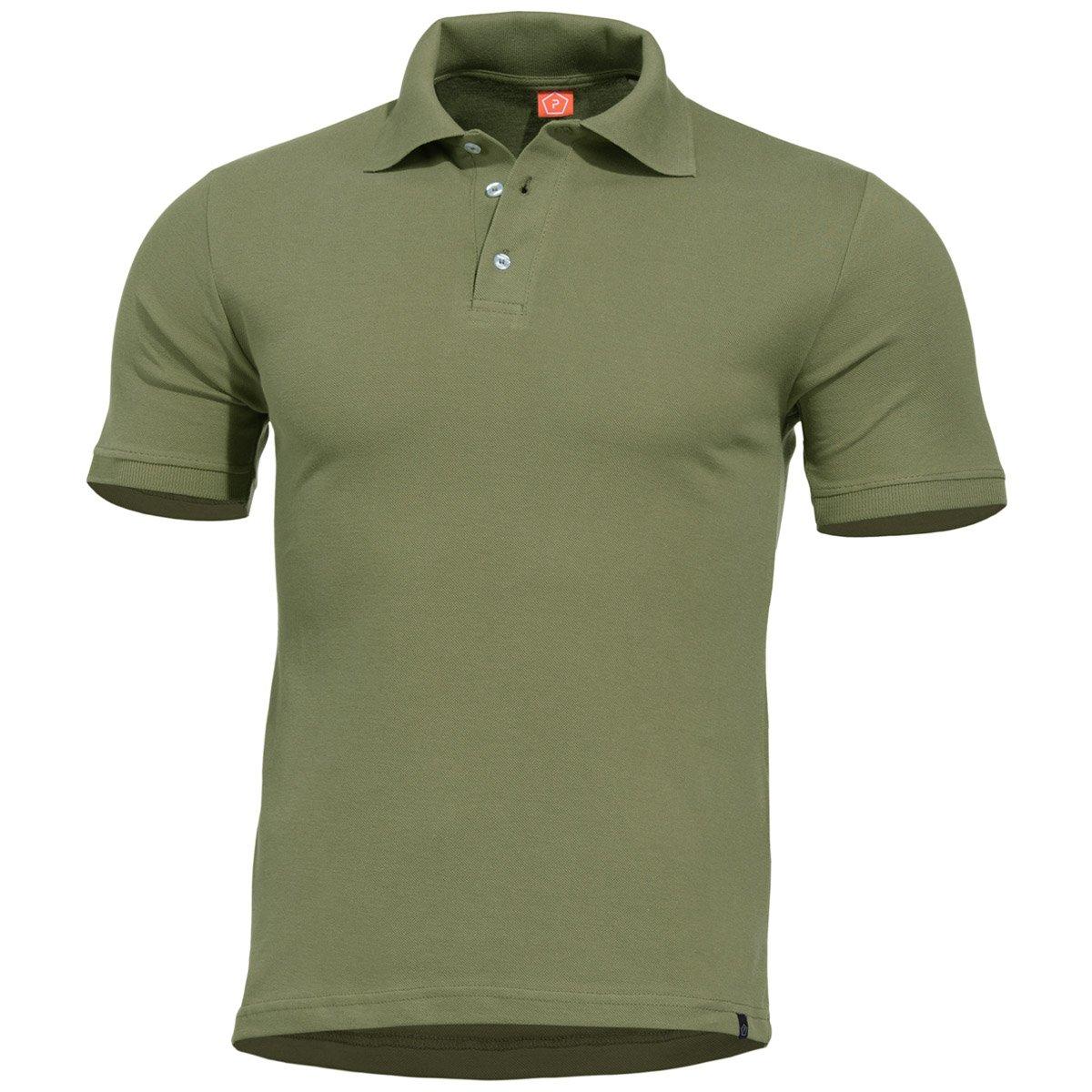 Pentagon Hombres Sierra Polo Camiseta Oliva: Amazon.es: Ropa y ...