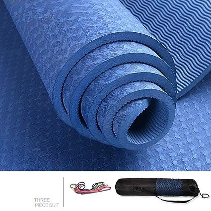 Amazon.com : Yiruculture Yoga mats, 183 66 cm Lengthened ...