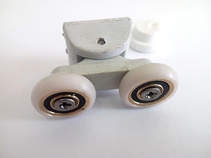 RPB Ducha – Repuesto de rodamientos para cabina de ducha serie EGO 1 unidad: Amazon.es: Bricolaje y herramientas