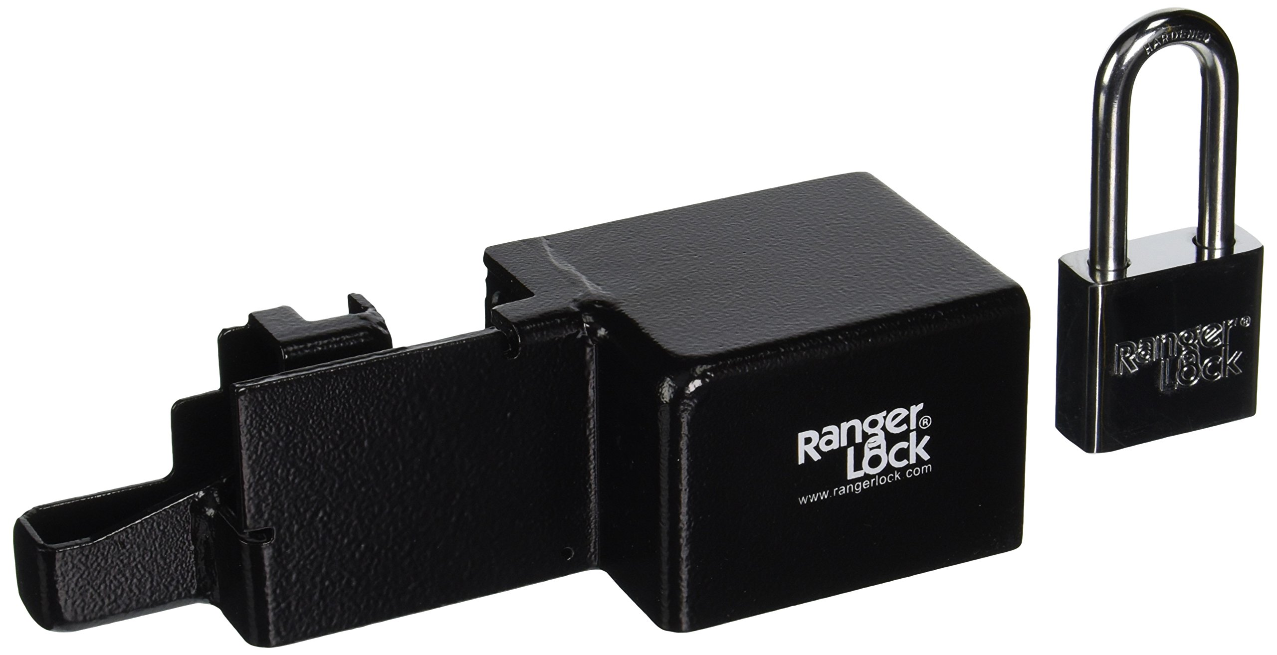 Ranger Lock RGRU-0L Rollup Lock Guard with 2-Inch Hardened Steel Lock