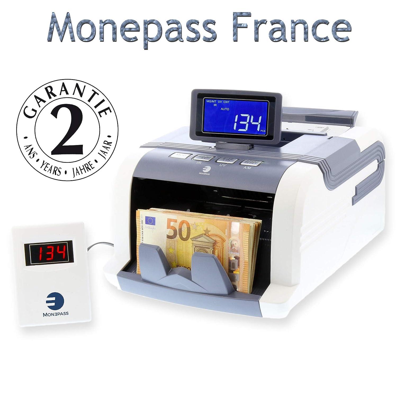 Bolígrafo fieltro detector de billetes falsos monepass: Amazon.es: Oficina y papelería