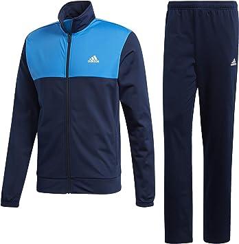 adidas BACK2BASICS TS - Chándal, Hombre, Azul(Maruni/AZUBRI/Blanco ...
