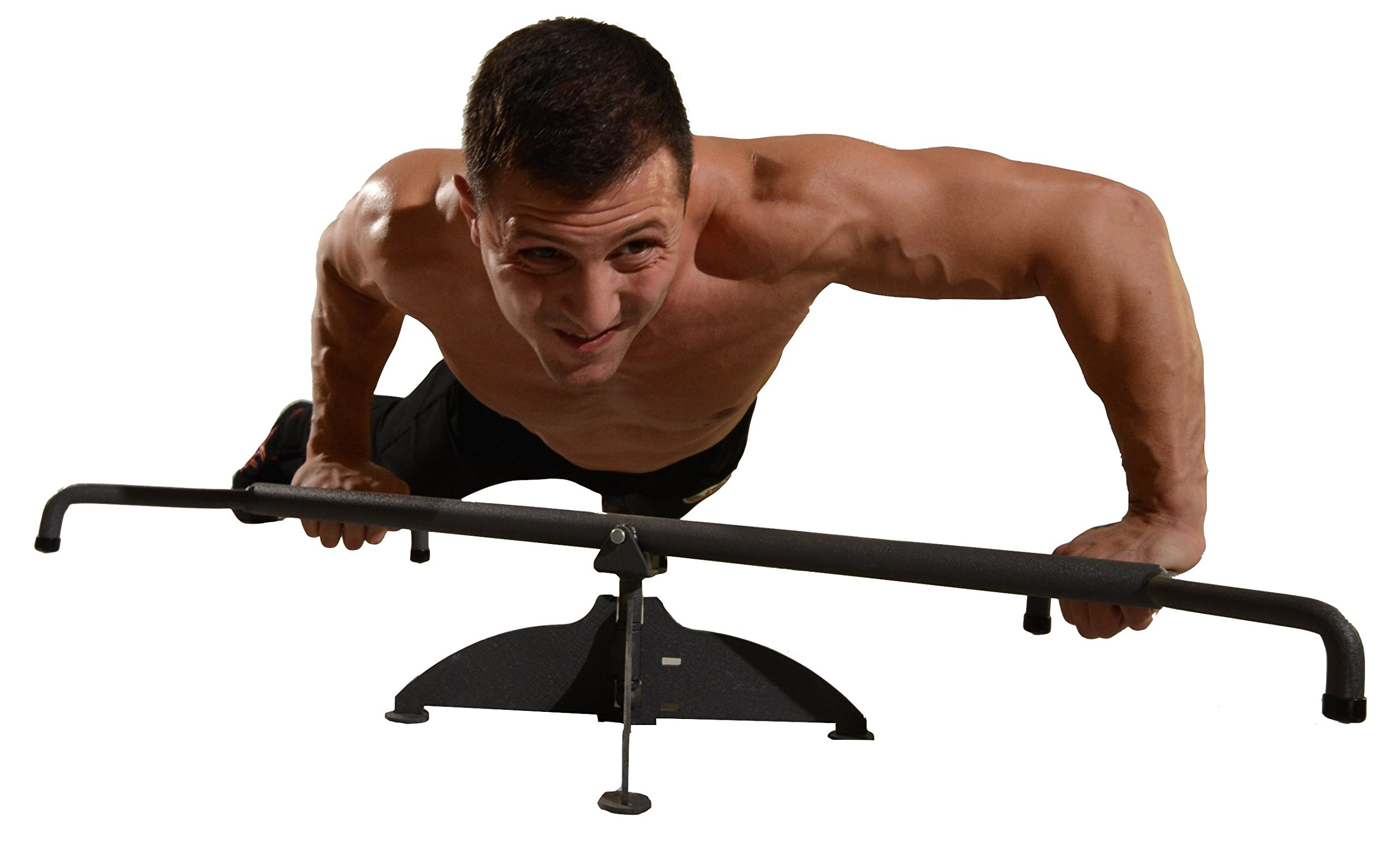 Suples Spartan Bar + WORKOUT DVD - push ps, abs, abdominal workout, full body workout, sit ups, perfect pushup, push up bar, bulgarian bag, wrestling, mma, chest, fitness, training, arm workout. by Suples (Image #3)