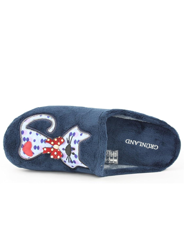 Grunland - Zapatillas para mujer, color negro, talla 35 EU