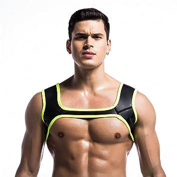Prom-near Man Neoprene Sports Shoulder Correa Aprovechar Muscles ...