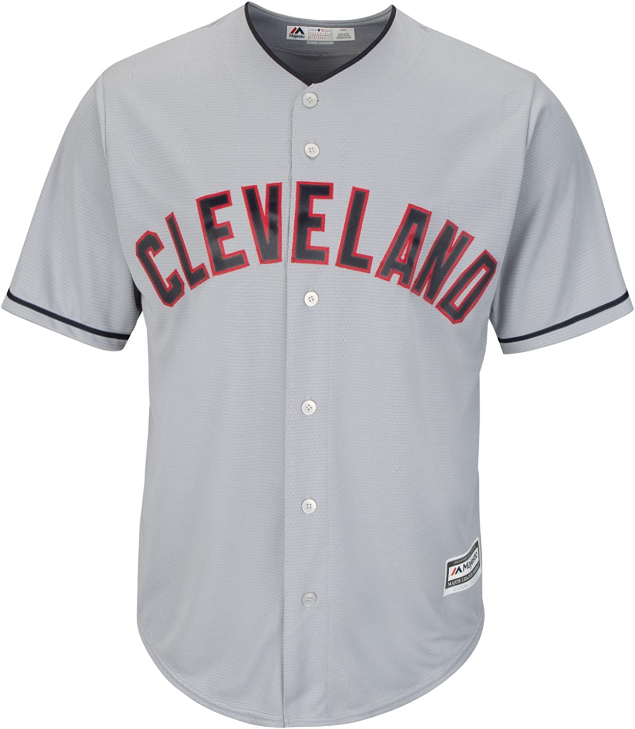 Cleveland Indians Road Gray Cool Base