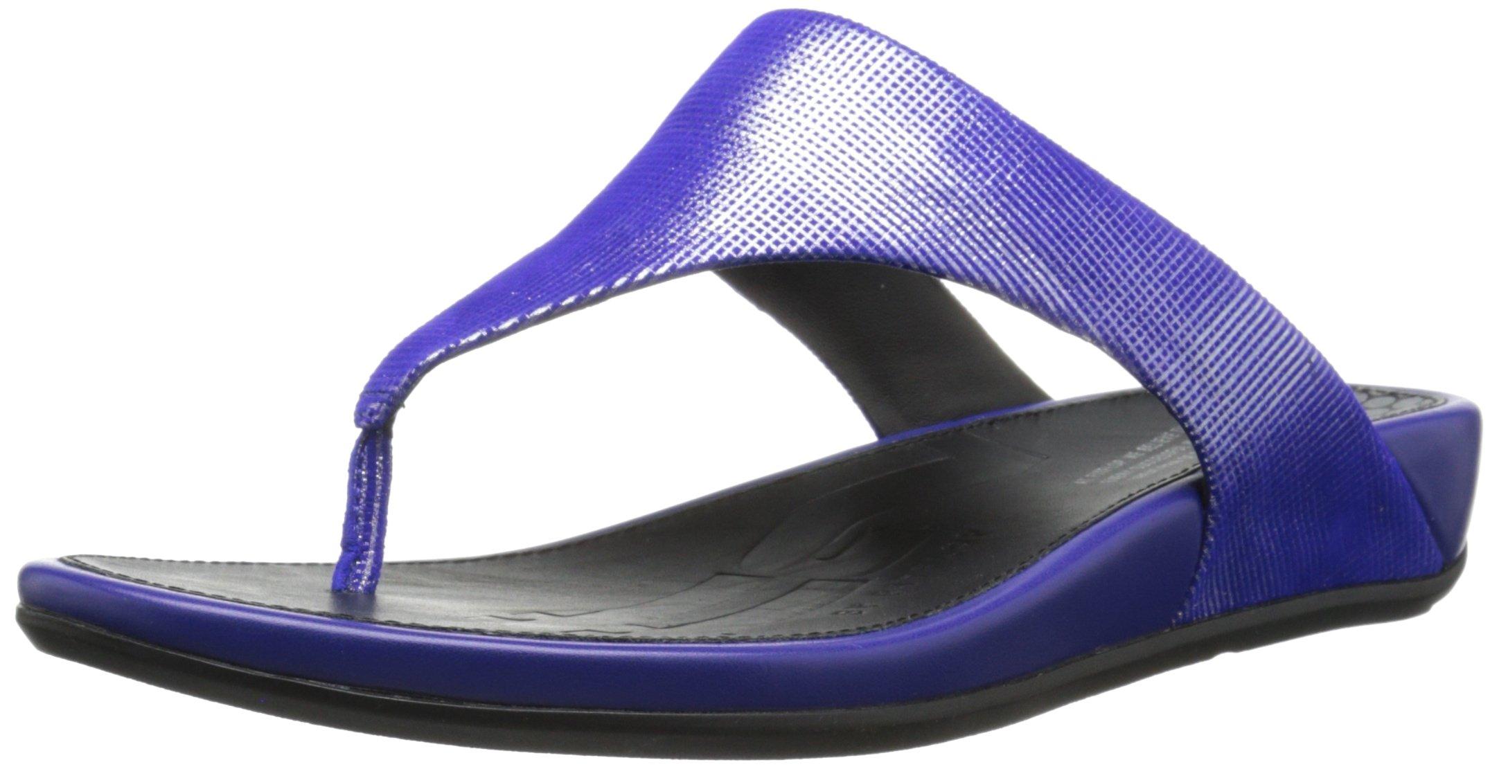FitFlop Women's Banda Opul Flip Flop, Mazarin Blue, 7 M US by FitFlop (Image #1)