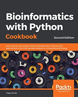 27745895a771 Bioinformatics with Python Cookbook  Learn how to use modern Python  bioinformatics libraries and applications to