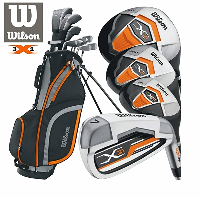 Wilson Mens X-31 Package Set (Steel/Graphite) 2017 Mens Left ...