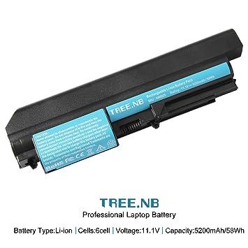 Tree.NB Batería del Ordenador portátil para Lenovo ThinkPad R400 ...
