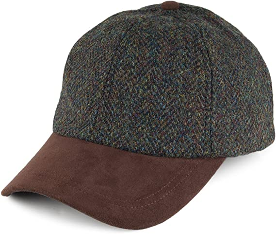 Failsworth Gorra de béisbol de Tweed Harris Mezcla de Verdes ...