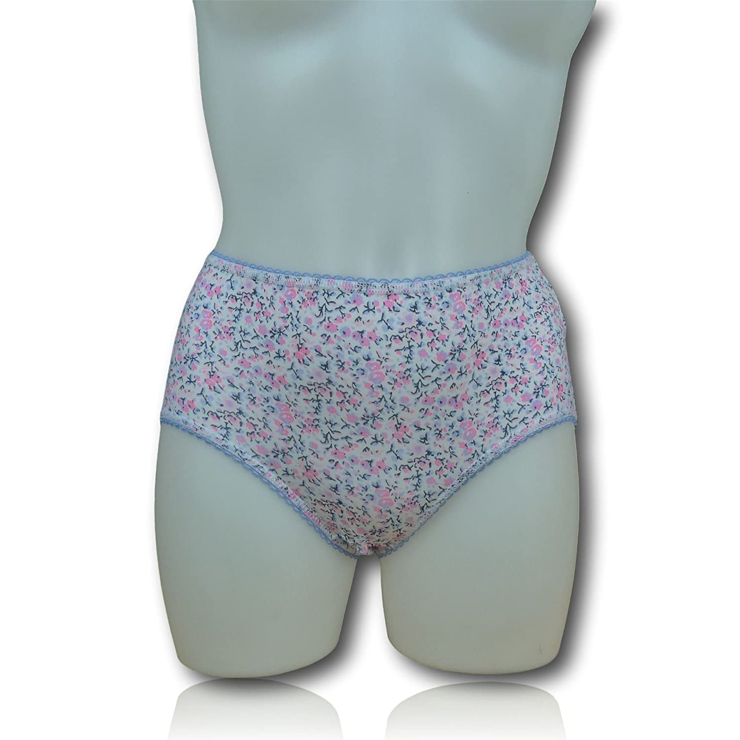 Fa M OUS Store Ladies/Womens 3 Pack Midi Briefs/Knickers (5 Colour Choices) Fa M Ou S Store