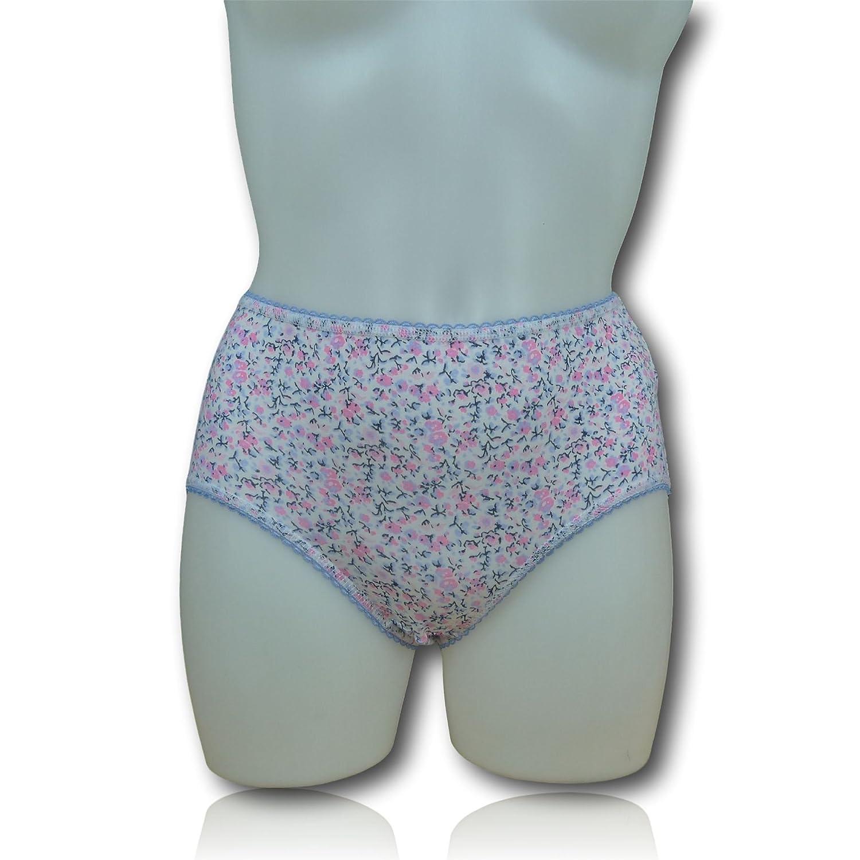 Fa M OUS Store Ladies Womens 3 Pack Midi Briefs Knickers (5 Colour Choices)  Fa M Ou S Store 81d6a6dc5b