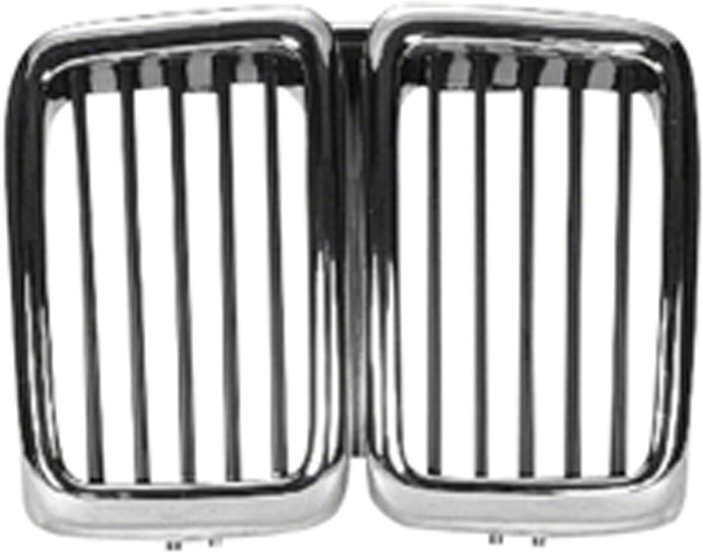 OE Replacement BMW 528//540 Grille Assembly Partslink Number BM1200171 Unknown