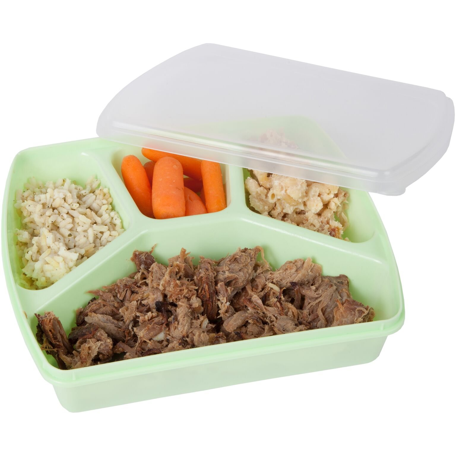 Trenton Gifts 4 Section Microwave Tray With Lid