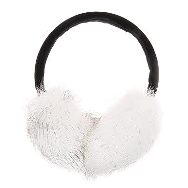 ZLYC cache-oreilles en fourrure synthétique unisexe, accessoire d'hiver, earmuffs, earwarmer
