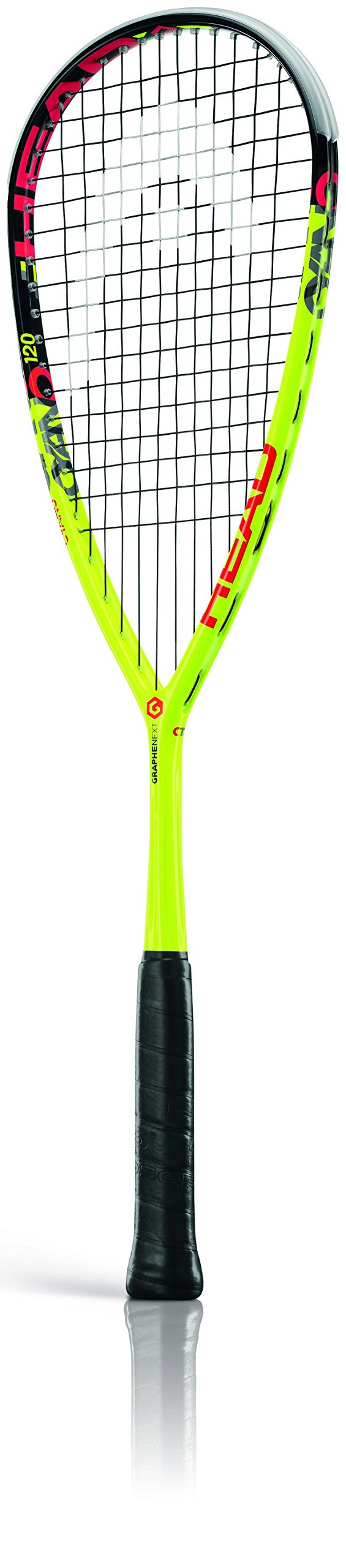 HEAD Graphene XT CYANO 120 Squash Racquet, Yellow, One Size