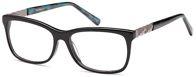 da7949a616 Amazon.com  DALIX Womens Aphrodite Eyeglasses Frames Prescription 53 ...