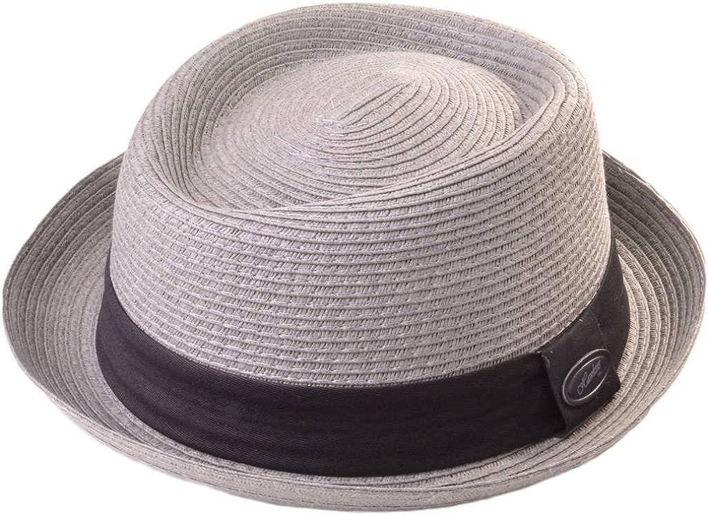 Hawkins - Sombrero de paja tipo «Pork pie»