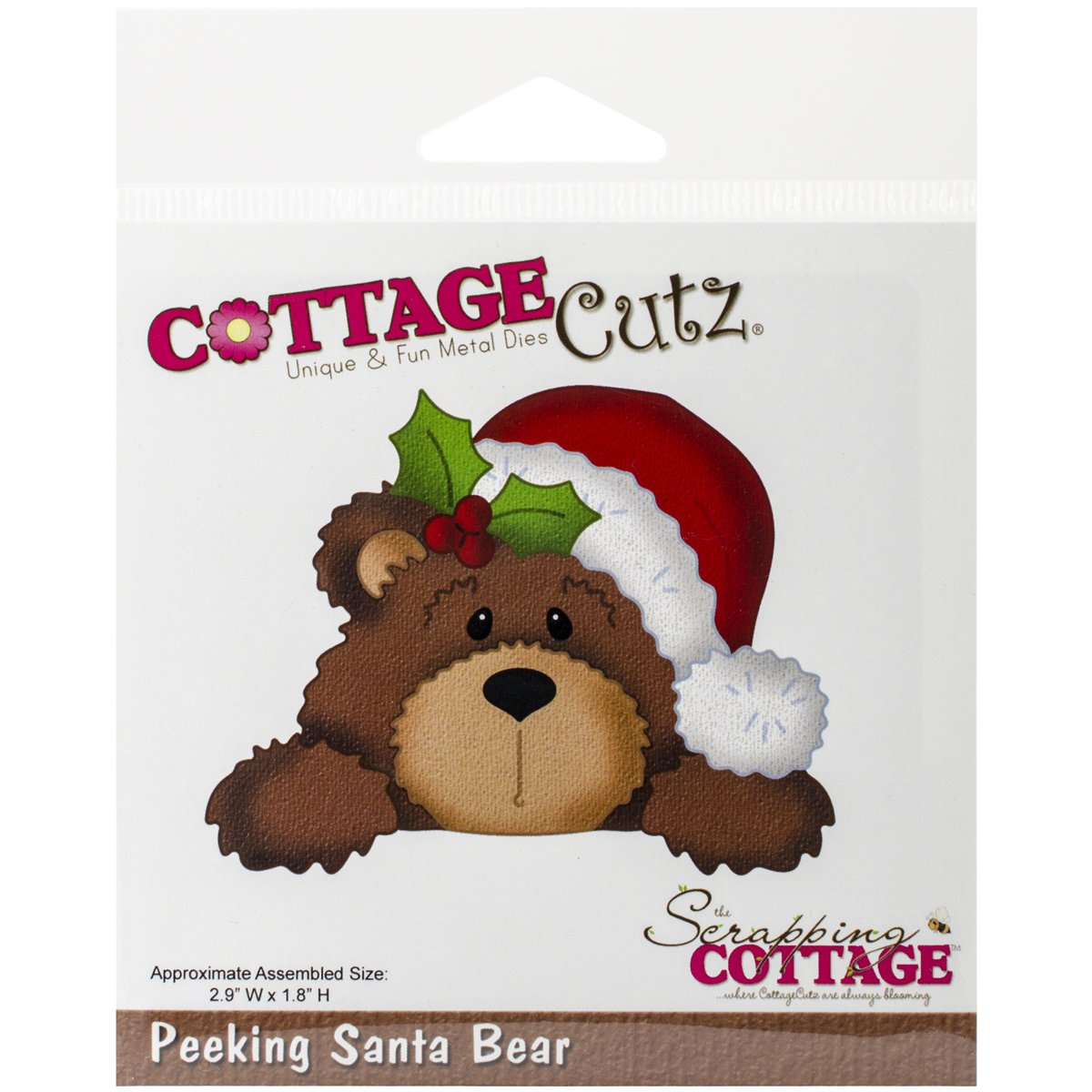 Christmas Bear Cutting Dies