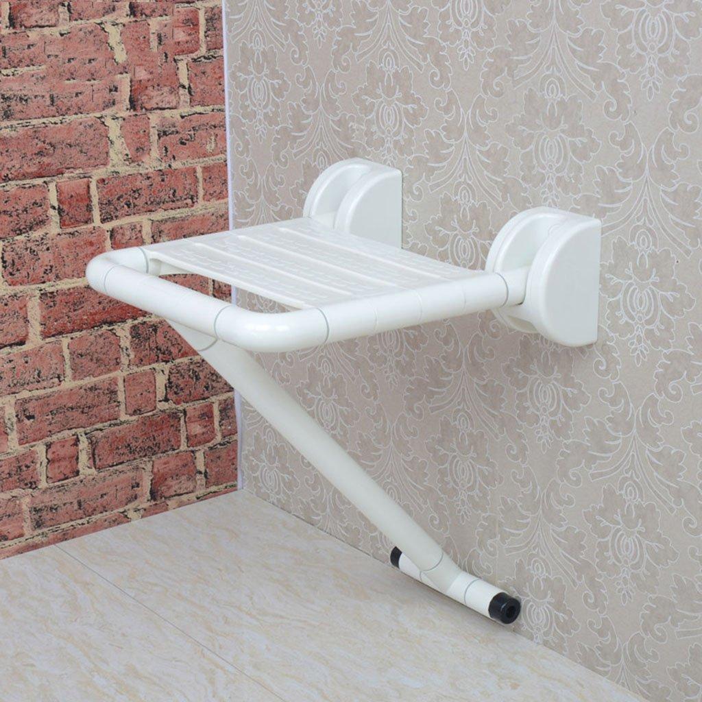 堅実な究極の バスルームの安全折りたたみ式のスツール高齢者のステンレススチールのシャワーの椅子の脚付き壁掛けの折り畳み式の椅子 (色 : : B07D6GHNT7 白 白) 白 B07D6GHNT7, Rio Planet:df0d8a9e --- mecfor.com.br