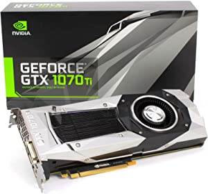 Nvidia GEFORCE GTX 1070 Ti - FE Founder's Edition [PN: 900-1G411-2510-000]