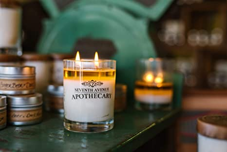 Amazon Com Seventh Avenue Apothecary Hand Poured Azalea And Black Walnut Artisan Soy Candle 1 Soy Candle Home Improvement