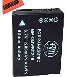BM Premium DMW-BCG10 Battery for Panasonic Lumix DMC-ZS8 Digital Camera