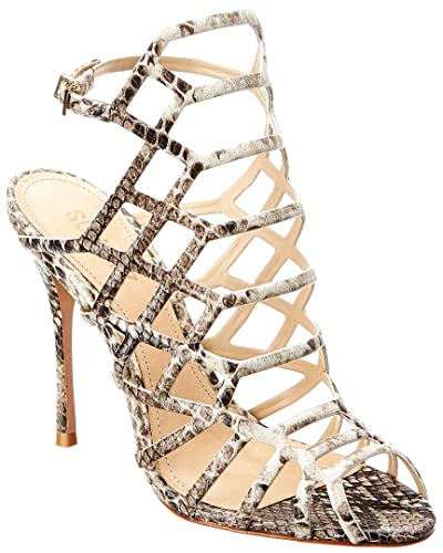 a7f9af76662 Image Unavailable. Image not available for. Color  SCHUTZ Women s Juliana Heeled  Sandal Pearl ...