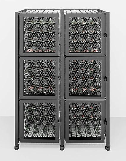 Miraculous Vintageview Case Crate Series Short Wine Rack Locker 96 Beutiful Home Inspiration Xortanetmahrainfo