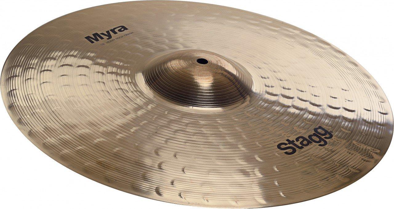Stagg MY-CRH20 Myra Series 20 Inch Heavy Rock Crash Cymbal by Stagg