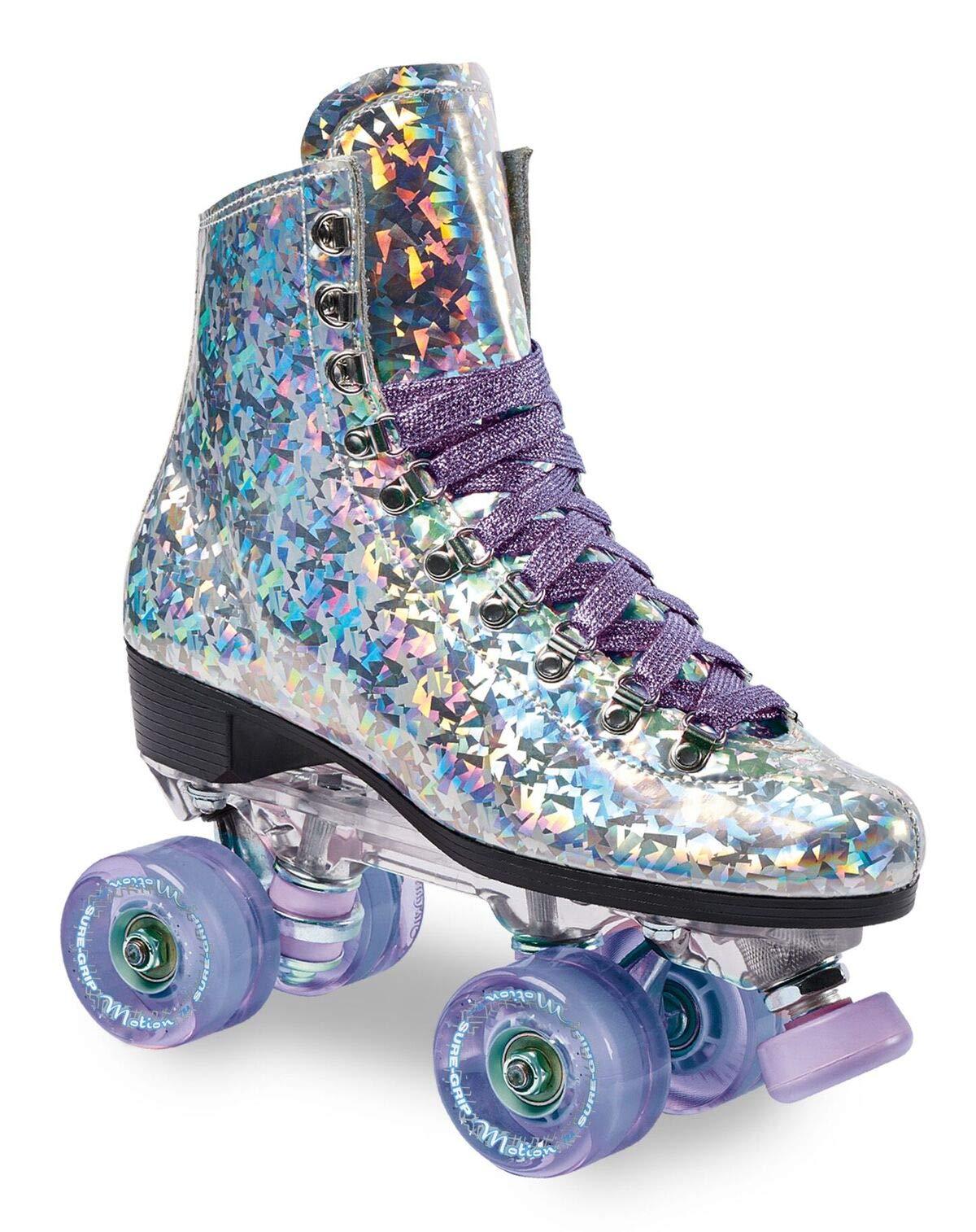 Sure-Grip Prism Roller Skates (Purple Lavish, Mens 7 / Womens 8-8.5)